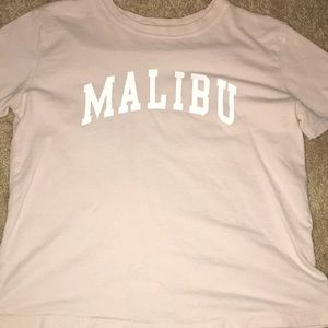 Malibu Tee shirt! From Brandy Melville